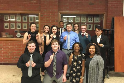 Forensics team places second at Kaw Valley League championships