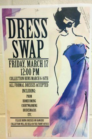 StuCo sponsors dress swap to lessen waste, save money
