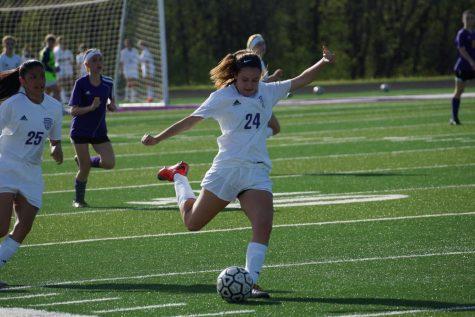 JV girls soccer battles Spring Hill April 18