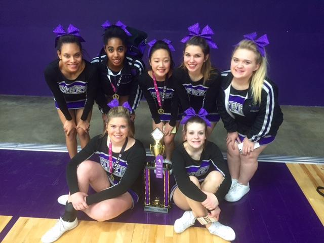 Cheer Competition at Baldwin