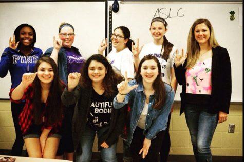 The ASL Club members.