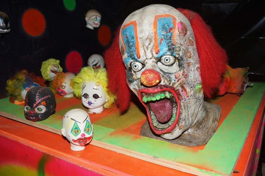 Two rooms at the Third Street Asylum were dedicated to clowns.