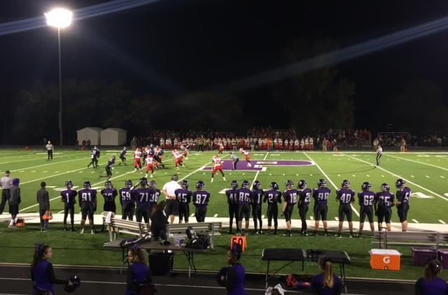 Varsity football shuts out Tonganoxie on senior night