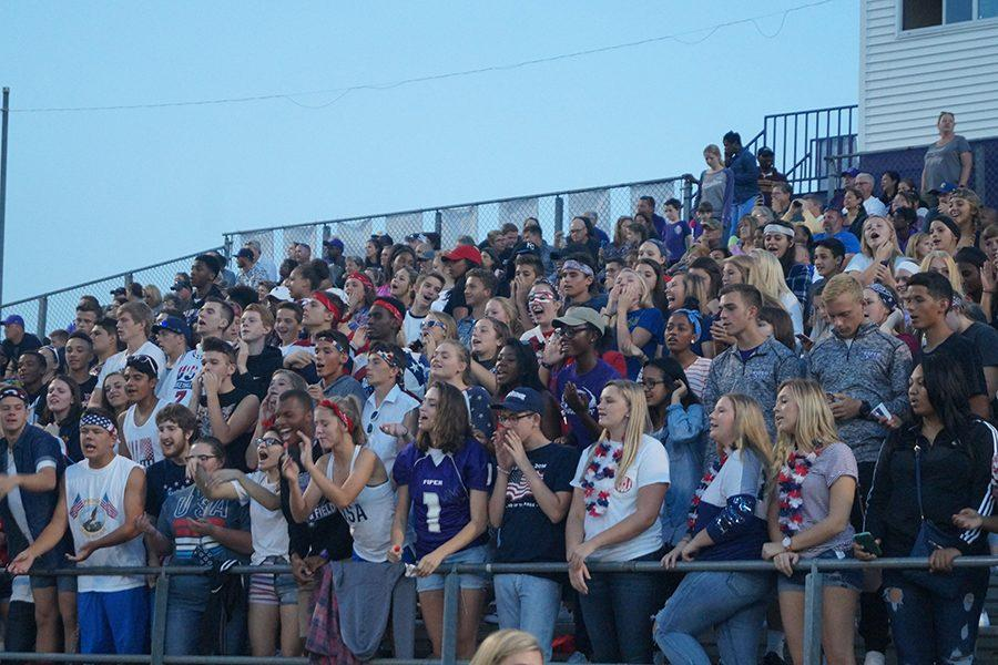 Sportsmanship starts in the student section