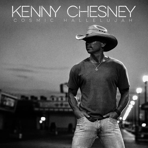 "Country superstar Kenny Chesney releases new album, ""Cosmic Hallelujah"""