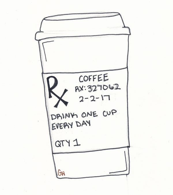 Is coffee a drug of choice?