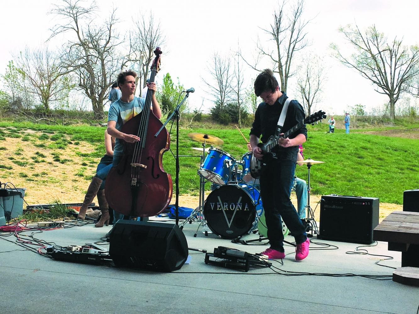 Verona performs at the Apple Blossom Festival April 9.