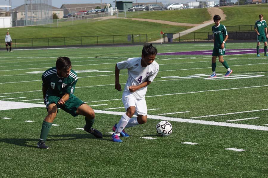 JV+soccer+takes+on+De+Soto+High+School