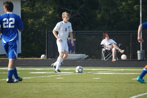 Jacob Talkin plays soccer in the 2014 season
