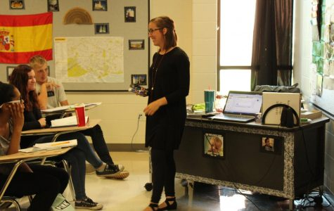 New Spanish teacher encourages learning through interactive methods