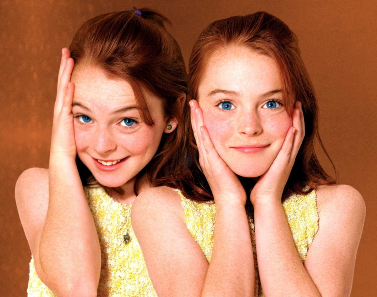 Lohan sees double