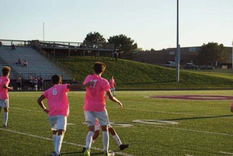 Boys' soccer wins big against Atchison