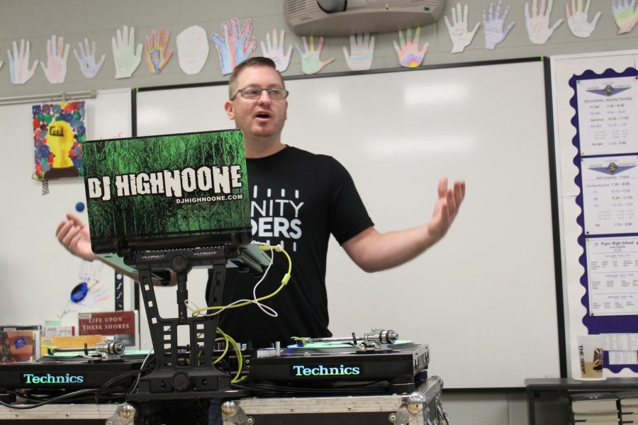 DJ HighNoone (Brandon Noone) shares details about his job as a traveling DJ.