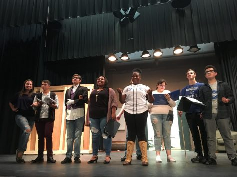 Musical production illustrates collaborative effort of cast, crew, staff