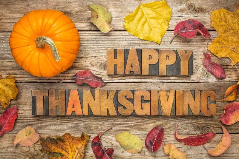 Thanksgiving break for students