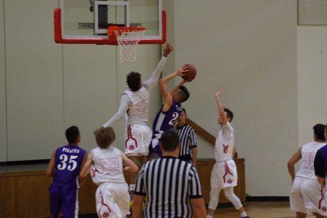 JV boys' basketball starts the season with a close game
