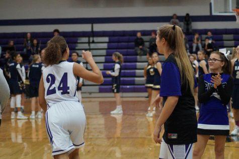 Boys' and Girls' basketball defeat Hayden