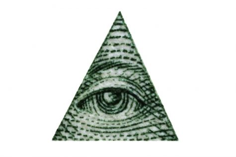 The Illuminati triangle is a valued symbol within the group.