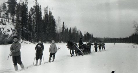 The nine hikers of the Dyatlov pass set out for the Ural mountains.