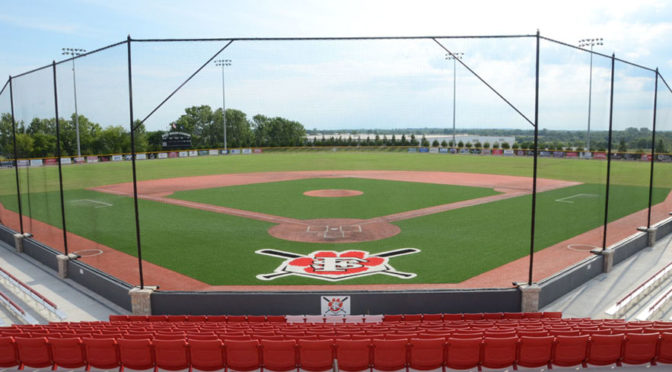 LaRoche Field in Fort Scott, where the games were being played