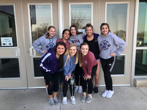 Dance team welcomes new members