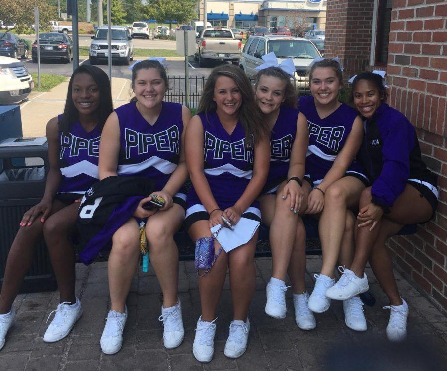 The cheer team bonds at IHOP.