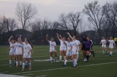 Girls' varsity soccer fall short to DeSoto