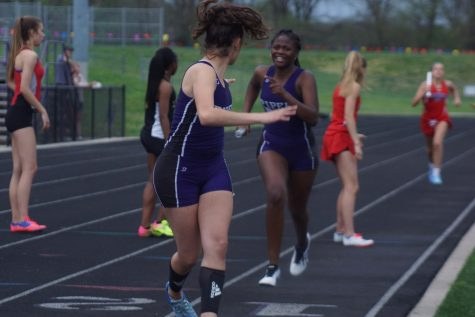 Varsity boys take first, varsity girls take second at home track meet May 2