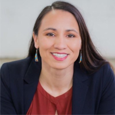 Sharice Davids was one of many minority candidates who unseated incumbents.