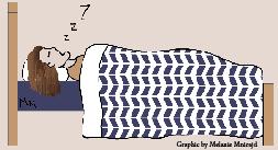 Biology, stress play factor in sleeping habits