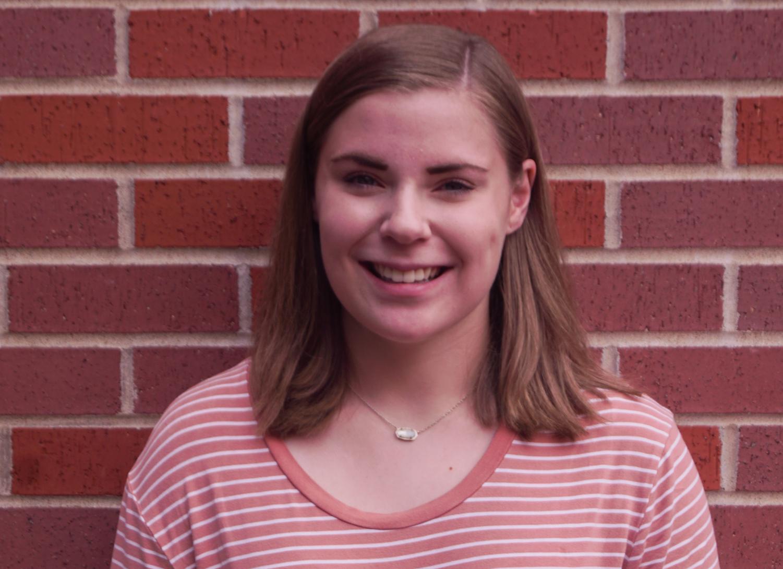 Senior Caroline Zimmerman