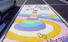 Seniors channel creativity for parking spots