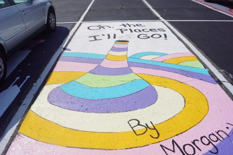 Seniors channel creativity for parking spots