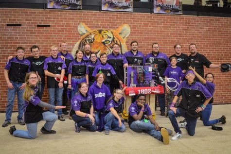Robotics team brings home Cowtown Throwdown victory