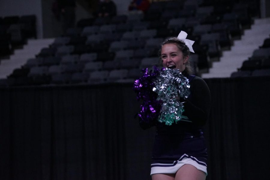 Cheer team brings home third place from state