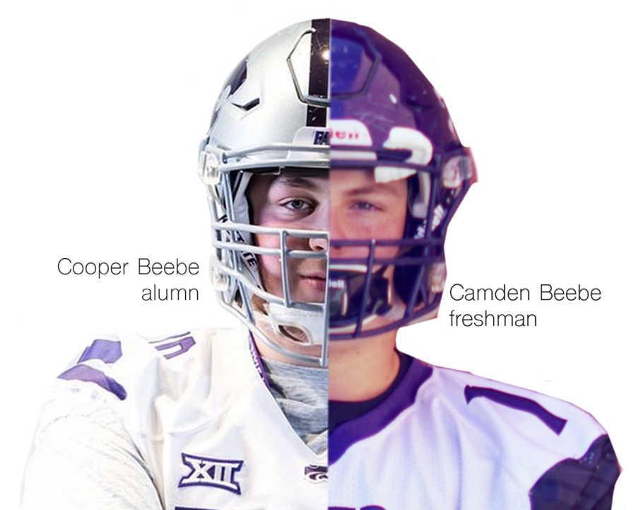 Cooper+Beebe+2019+alumni+who+now+plays+for+Kansas+State%2C+alongside+his+freshman+brother+Camden.