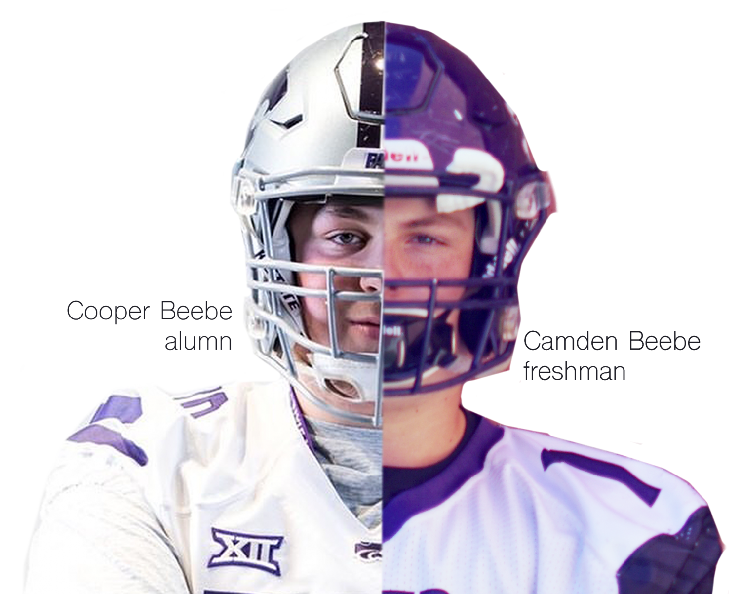 Cooper Beebe 2019 alumni who now plays for Kansas State, alongside his freshman brother Camden.