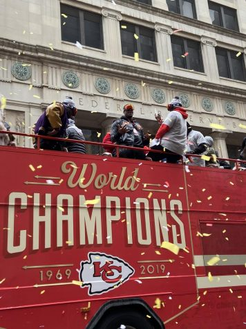 Kansas City Chiefs bring the Lombardi Trophy back to Kansas City