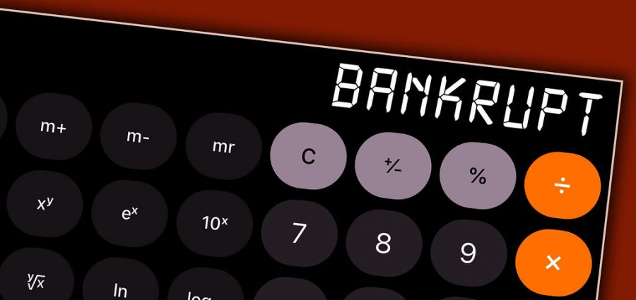 Certain economic variables can cause small or large businesses to declare bankruptcy.