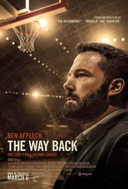 """The Way Back"" released to theatres March 6, 2020."