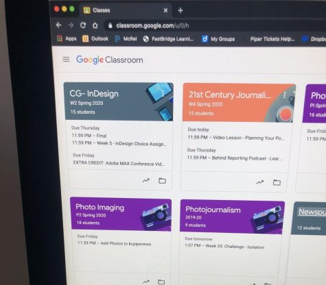 As the COVID-19 pandemic rages on, students look to Google Classroom to finish their school year.