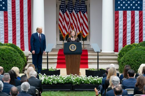 President Trump nominates Judge Amy Coney to fulfill the Associate Justice of the U.S. Supreme Court spot on Sep. 26, 2020.
