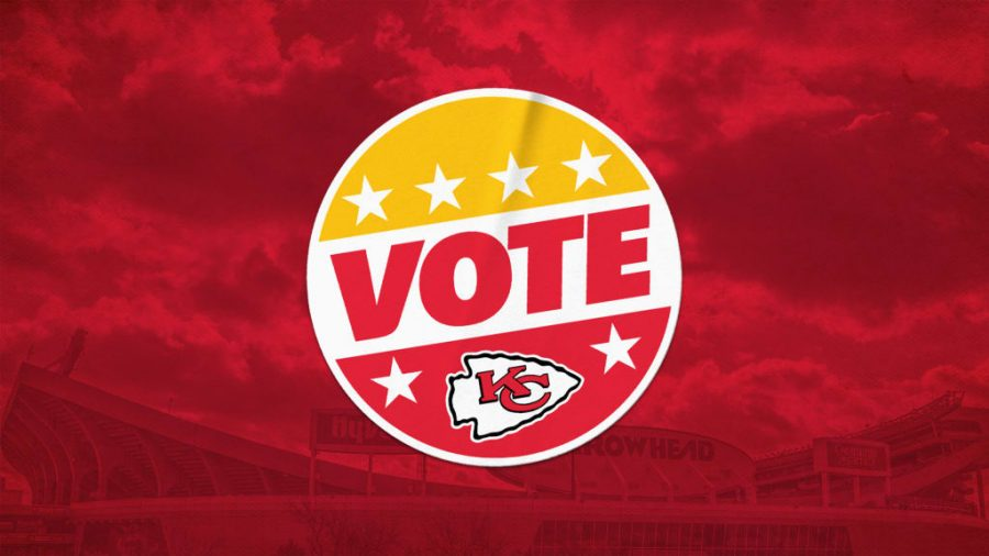 The Kansas City Chiefs served as a polling place on Nov. 3 for the 2020 election.