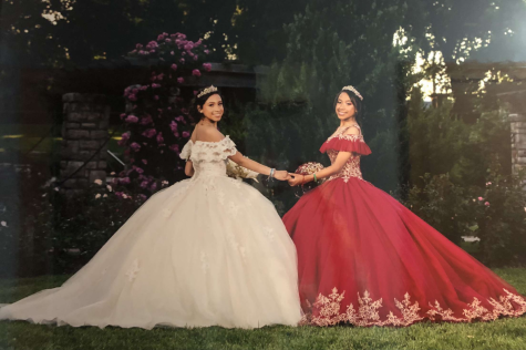 Juniors Emely and Elizabeth Lopez-Cardona celebrated their Quinceañera in July, 2019.