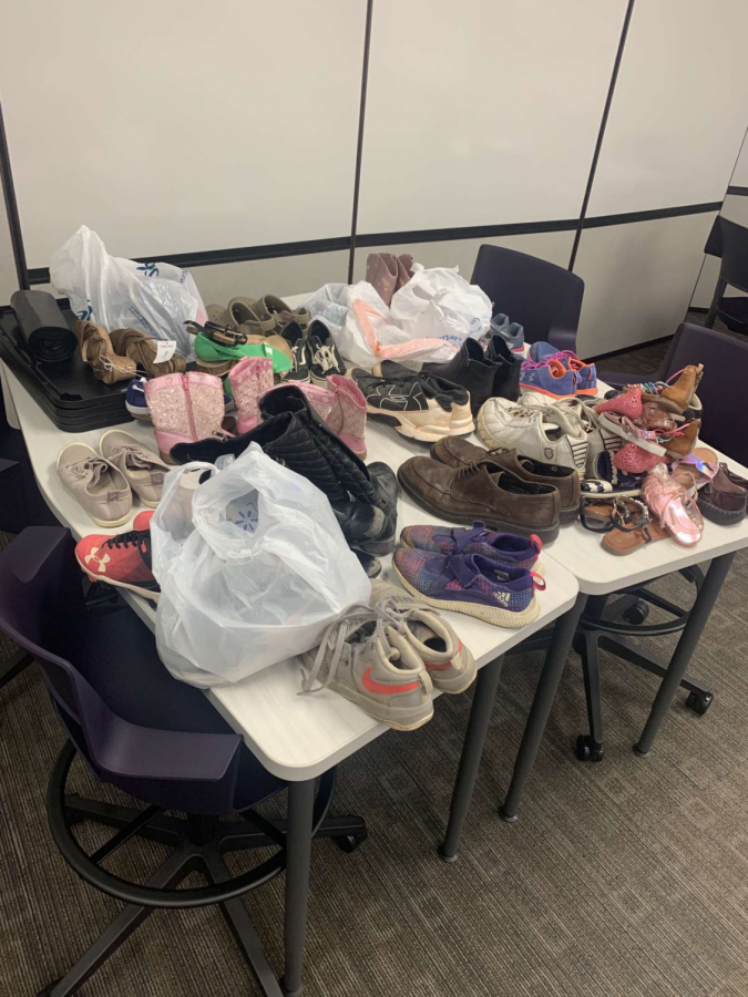 The Community Connections drive hosted a shoe drive throughout the month of November to donate to Greater Faith Missionary Baptist Church.