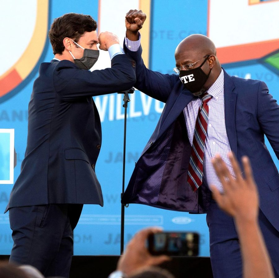 Democrats Jon Ossoff and Raphael Warnock have been declared the winners of the Georgia senate runoff election.
