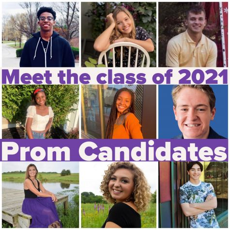 Meet the Northern Lights themed 2021 Prom King and Queen candidates.