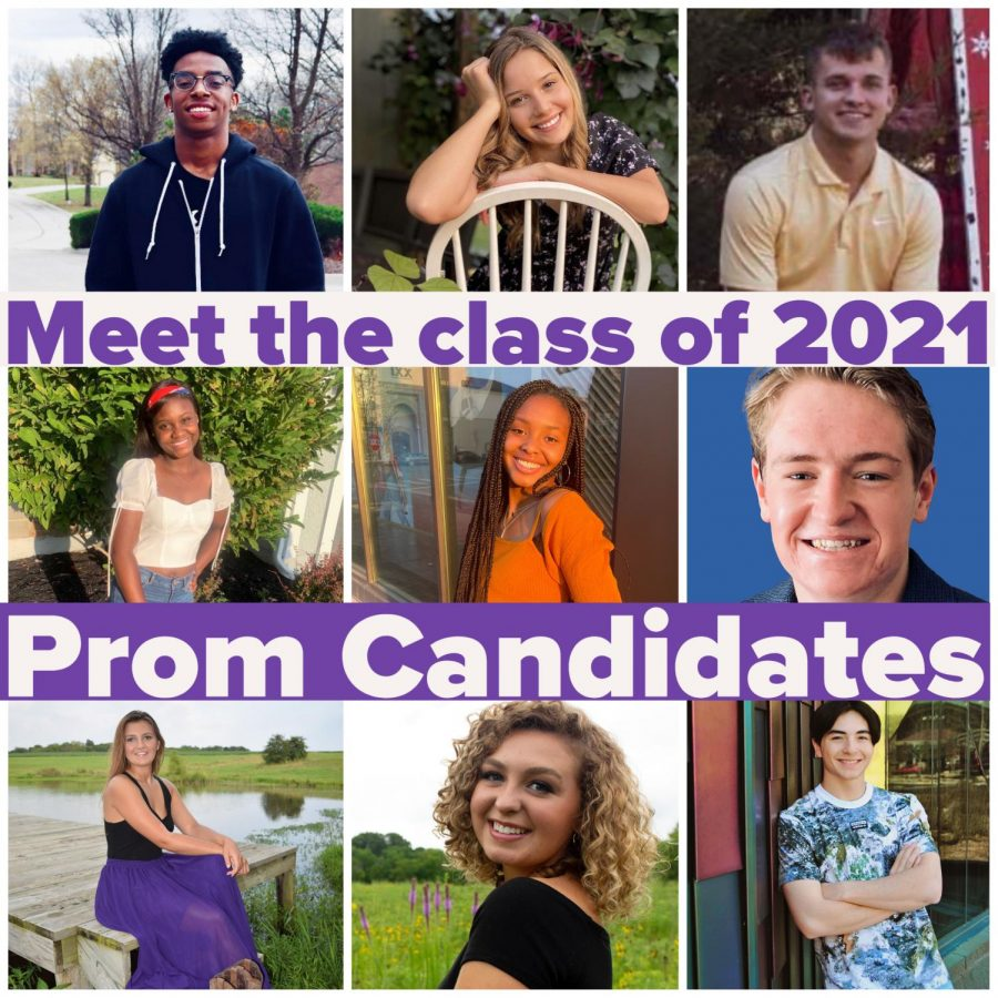 Meet the 2021 Prom Candidates