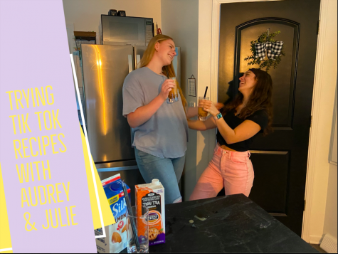 Trying Tik Tok recipes with Audrey & Julie: Episode 3
