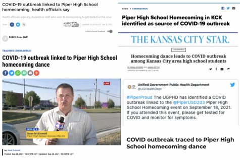 Many local news outlets covered the alleged outbreak with similar headlines instead of reporting on larger issues within the community.